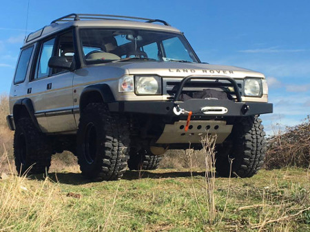 Heavy Duty Rsb Landrover Discovery Winch Bumper